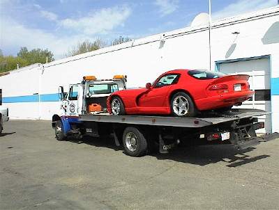 Heavy Duty Towing Truck specialty cars representing Auto Spa Towing Ltd.