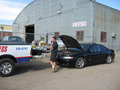 Roadside Assistance presenting Auto Spa Towing Ltd.