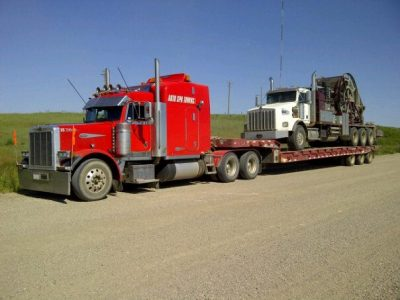 Coil tubing towing representing auto spa towing ltd.
