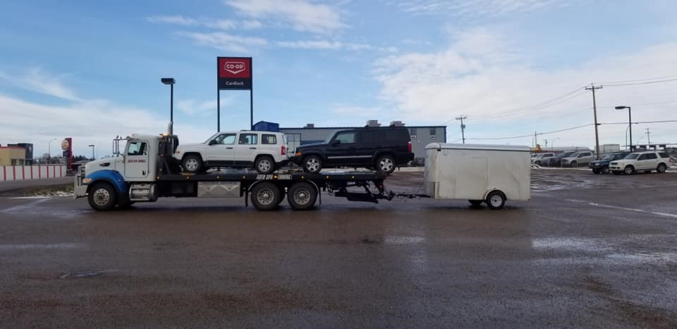 Long Distance Towing Haul