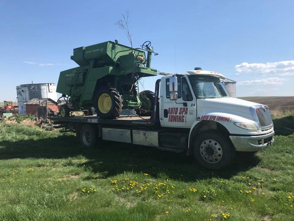 Tractor Equipment Hauling